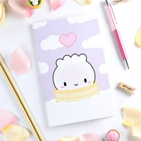 Steamie In The Clouds Notebook (Standard/Wide Size - Blank Pages)