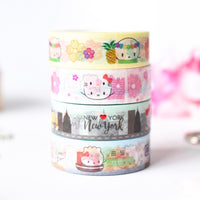 Around The World Washi Collection (Set Of 9)