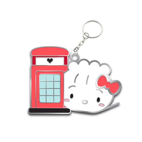 Hello Steamie London Keychain