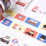 Around The World London Washi (15mm)