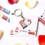 Hello Steamie London Phone Booth Keychain