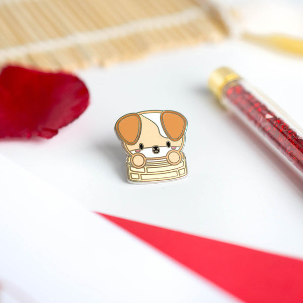 Puppy Enamel Pin