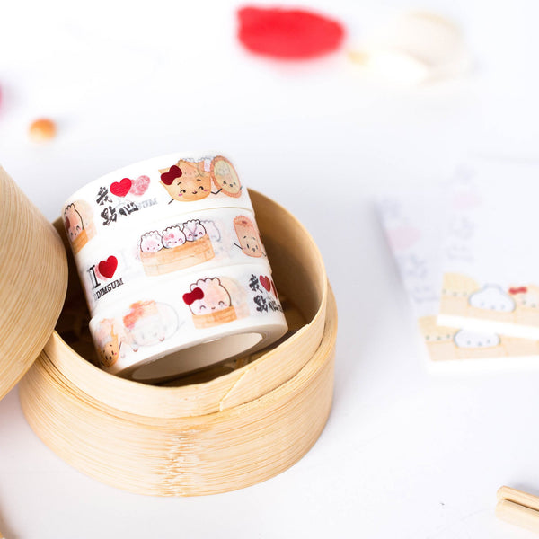 I Love Dimsum Washi