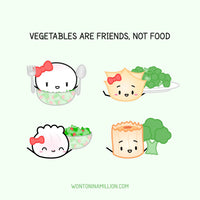 Salad Stickers