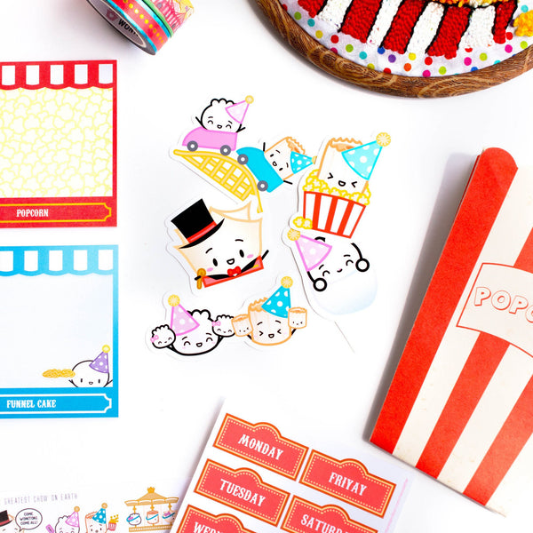 Carnival Diecuts (Set Of 5)