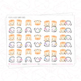 Peek-A-Boo Dimsum Collection Washi (Set Of 4)