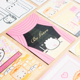 "Besties 5x7"" Journaling Cards (Set Of 5)"