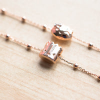 Rose Gold Steamie Bracelet