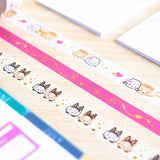 Besties Dates Washi (15mm)