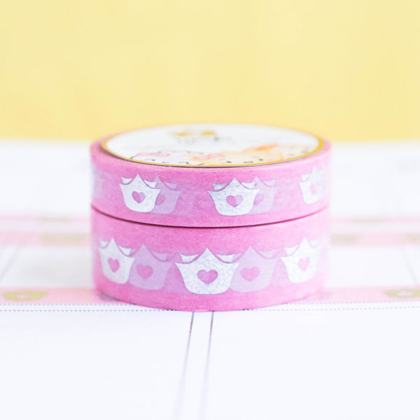 Wonton In A Million Holographic Logo Washi (Set Of 2)