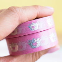 Wonton In A Million Holographic Logo Washi (10mm)