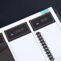 VERTICAL LAYOUT // Ninja Suey Sticker Kit (Gold OR Silver Foil)