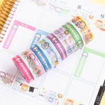 Functional Washi Collection (Set Of 8)