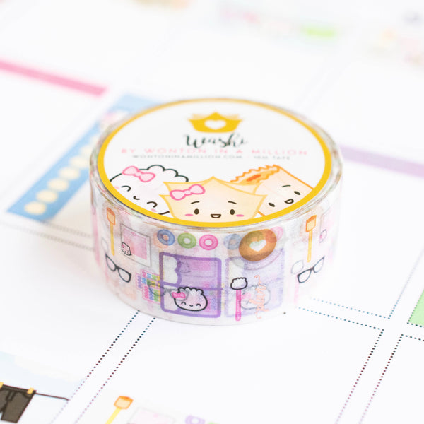 Functional Full Box Crafting Table Flatlay Washi (20mm)