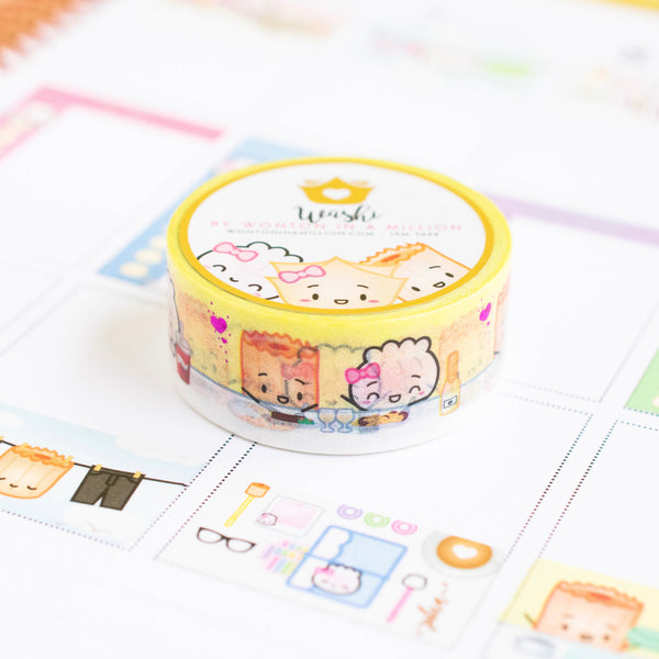 Functional Full Box Dinner For Two Washi (20mm)