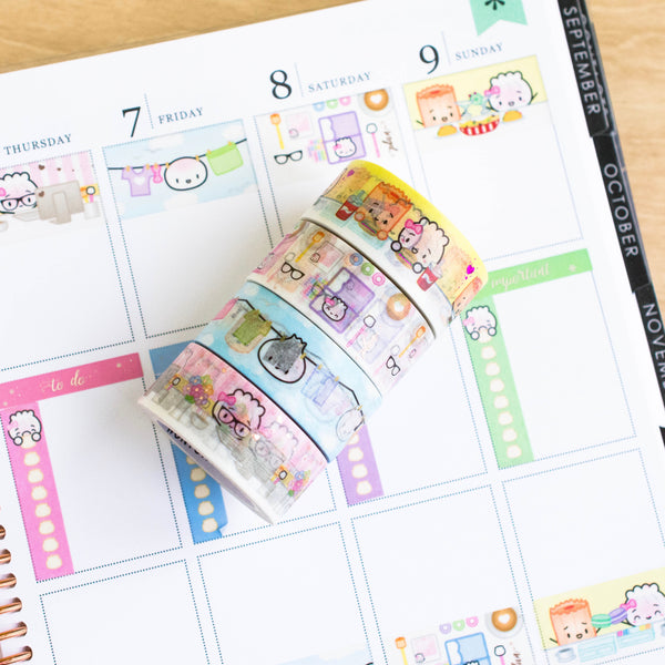 Functional Full Box 20mm Washi (Set Of 4)
