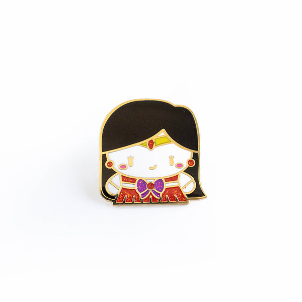 Sailor Mars Gold Enamel Pin