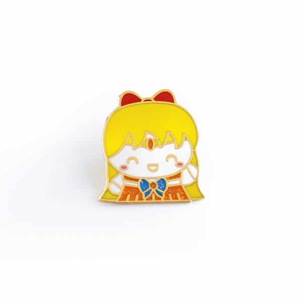 Sailor Venus Gold Enamel Pin