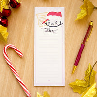 Steamie's Nice List 3x8 Sticky Notes (50% off)