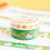 St Patrick's Day Get Lucky Washi (15mm)