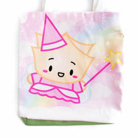 "Wonton Upon A Time 13x13"" Canvas Tote Bag"