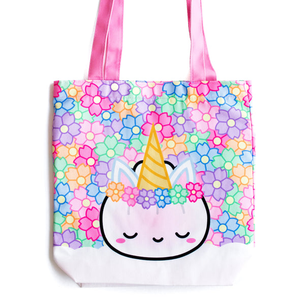 [OOPS] Unicorn Steamie Tote Bag (Minor mark on design)