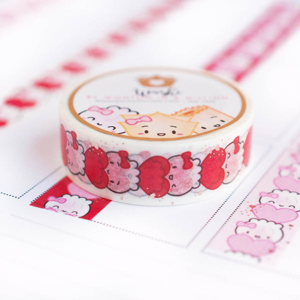 Steamie's Totem Valentine Washi - White (15mm)