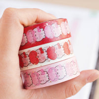 Steamie's Totem Vertical Washi - Red (15mm)