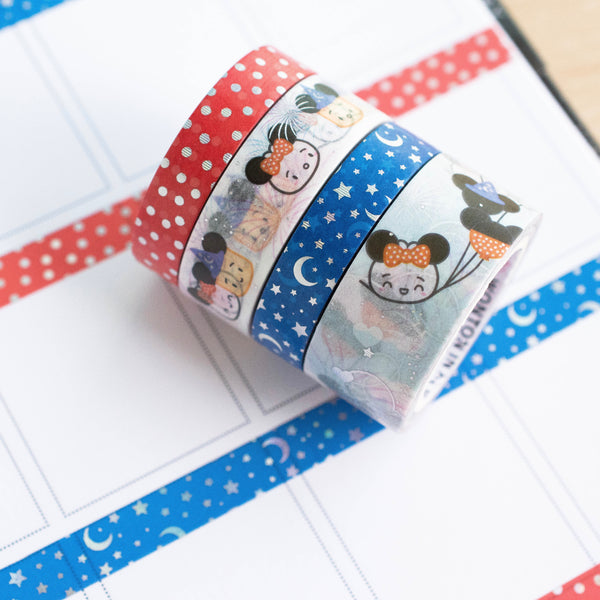 Happiest Place On Earth Washi (Set Of 4)
