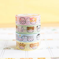 Steamie's Hats - Safari Adventure Washi  (15mm)