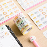 Steamie's Hats Washi 15mm (Set Of 4)