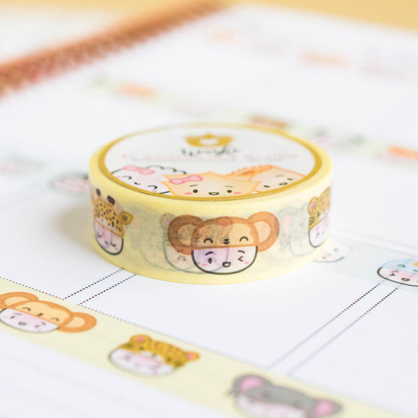 Steamie's Hats - Safari Adventure Washi 15mm