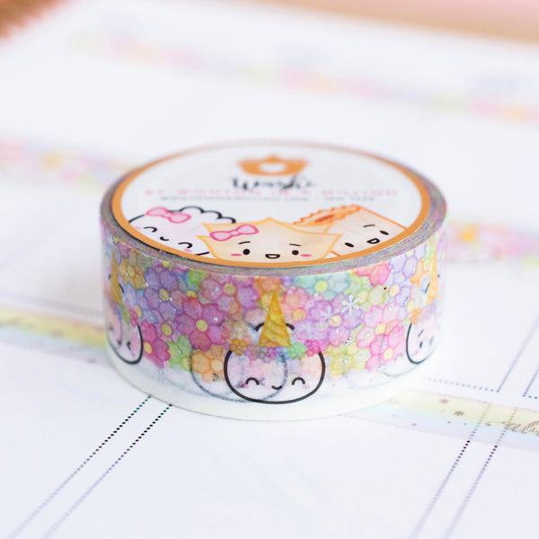 Unicorn Steamie Washi (20mm)