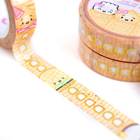 Wonton Upon A Time Castle Towers Checklist Washi (10mm)