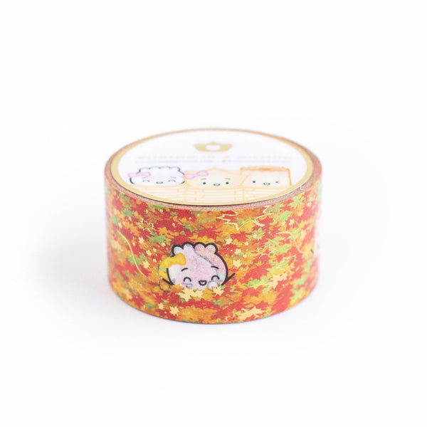 The Steam Team Loves Autumn (Leaves) 2.0 Washi (25mm)
