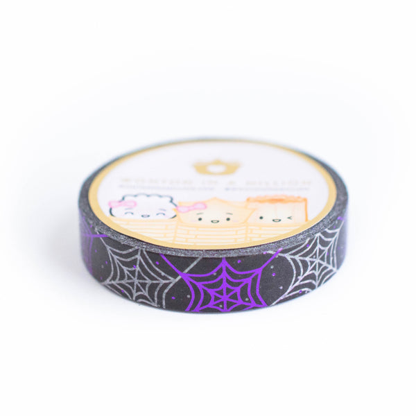 Halloween Spiderwebs Washi (10mm)