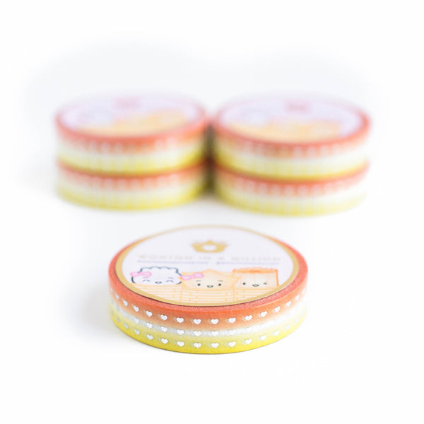 Halloween Candy Corn Washi (10mm)