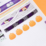 Pumpkin Steamie Petals (100 Stickers)