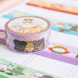 [BOOK 3] Hagao Potter & The Prisoner Of Azkabun Washi (20mm)