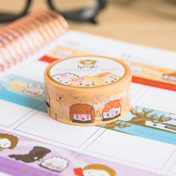 [BOOK 1] Hagao Potter Scenes Washi (20mm)