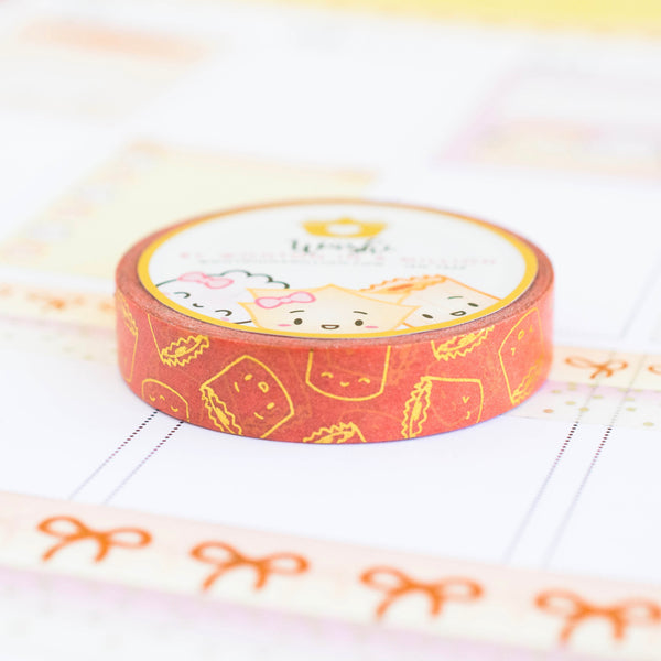 Golden Orange Suey Washi (10mm)
