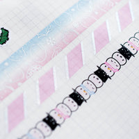 Pink Holographic Scarf Washi (10mm)