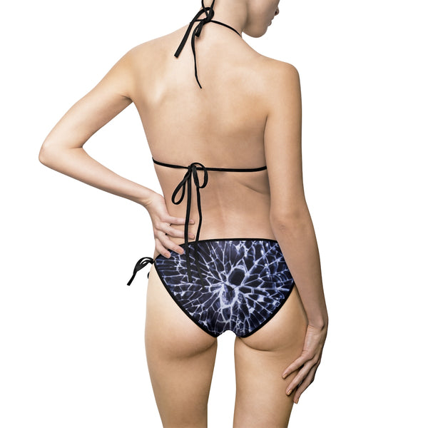 Women's Broken GlassBikini All Over Prints Badass Stock