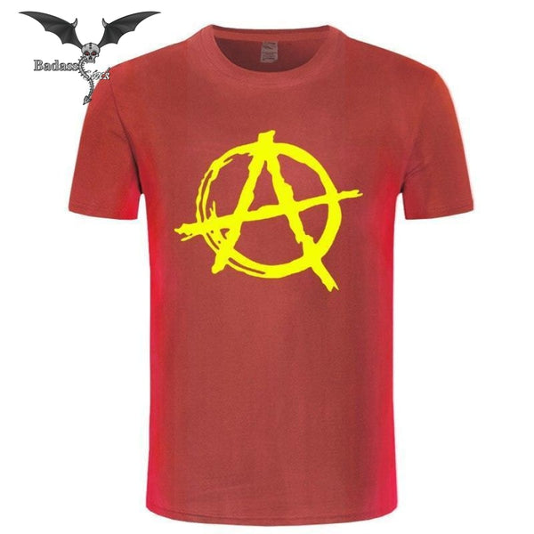 Anarchy T-Shirt T-shirt Badass Stock