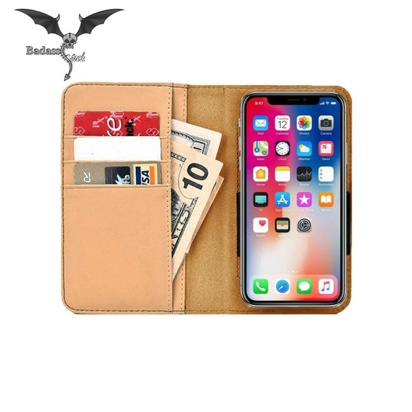 Beautiful city streets and lights phone case Wallet Case Badass Stock