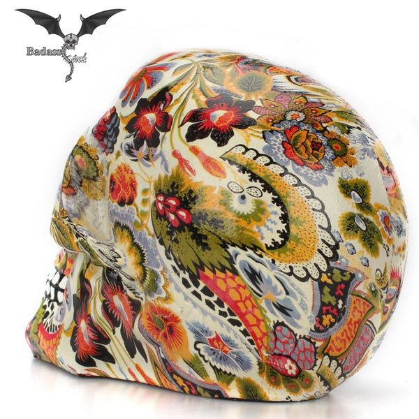 Colorfull Resin Skull resin skull Badass Stock