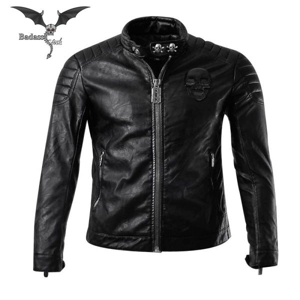 Jacket Motorcycle & Skull for Men  Badass Stock