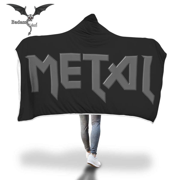 Metal Hooded Blanket Hooded Blanket Badass Stock