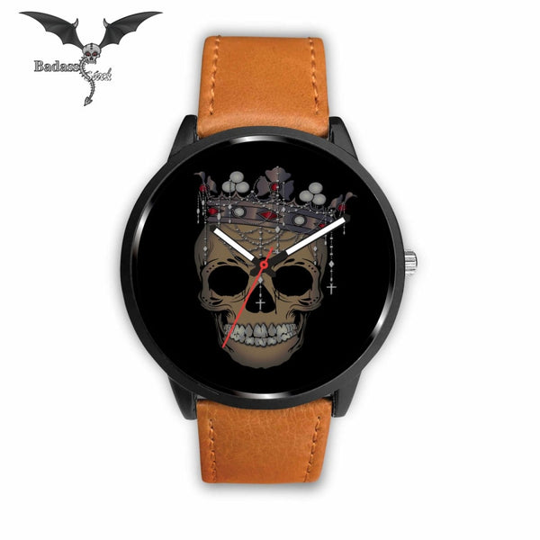 Queen Skull Watch Watch Badass Stock