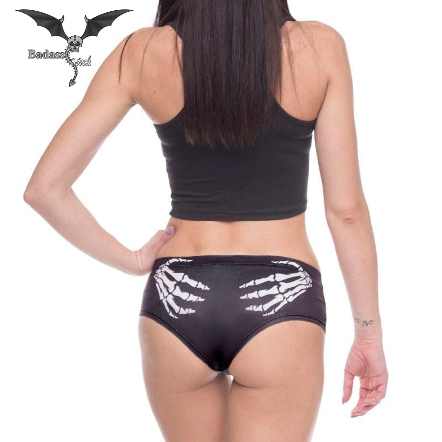 f5df8dae14 Skull Hand Panties. Home; Badass Stock ...